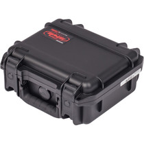 "SKB 3I-0907-4-C Small Mil-Std Waterproof Case 4"" Deep (Black)"