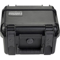 SKB 3I-0907-6B-C Small Injection Molded Waterproof Case with Cubed Foam Interior, 9.5x7.38x6.13, Black