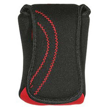 Promaster Agua Neoprene Camera Pouch - Red Snapper