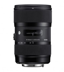 Sigma 18-35mm f/1.8 DC HSM Art Lens for Sony Alpha