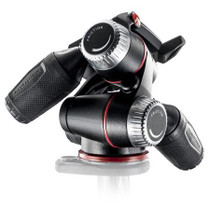 Manfrotto MHXPRO-3W X Pro 3-Way Head with Retractable Levers/Friction Controls, 17.64lbs Load Capacity