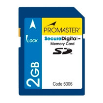 Promaster 105X Secure Digital 2GB Memory Card
