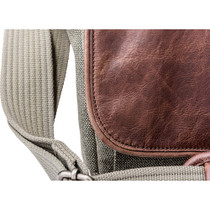Think Tank Photo Retrospective 7 Shoulder Bag (Gray with Brown Leather)