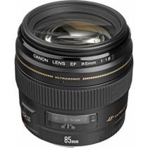 Canon 85mm f/1.8 EF USM Autofocus Lens
