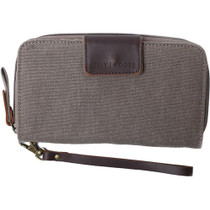 Kelly Moore Wallet (Sand Canvas/Brown Trim)