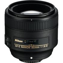 Nikon 85mm f/1.8G AF-S FX Nikkor Lens