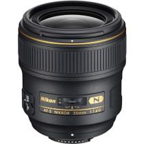 Nikon 35mm f/1.4G AF-S Auto Focus Nikkor Lens