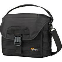 Lowepro ProTactic SH 180 AW Shoulder Bag for DSLR Camera & Lenses (Black)