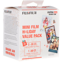 Fujifilm Instax Mini Instant Film Holiday Pack (40 Exposures)