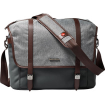Manfrotto Windsor Camera Messenger Bag (Medium, Gray)