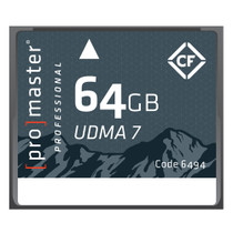 Promaster Rugged Compact Flash 64gb Memory Card