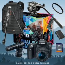 Canon EOS 90D B-Roll Package