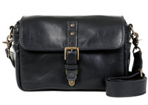 Ona Bowery Leather Messenger Bag (Black)