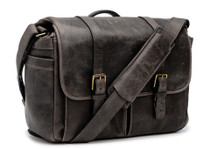 Ona Brixton Leather Messenger Bag (Truffle)