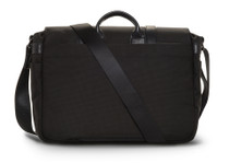 Ona Brixton Nylon Messenger Bag (Black)