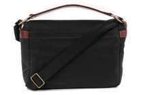 ONA Prince Street Camera Messenger Bag (Black, Waxed Canvas)