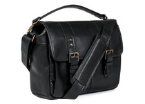 ONA Prince Street Camera Messenger Bag (Black, Italian Leather)