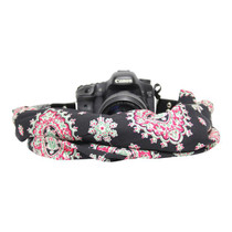 Capturing Couture Scarf Camera Strap - Americana Blackberry