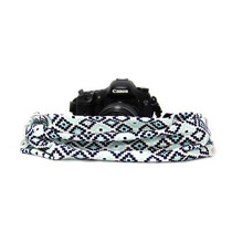 Capturing Couture Scarf Camera Strap - Geovannie Ocean