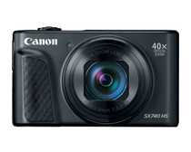 Canon PowerShot SX740 HS Digital Camera (Black)