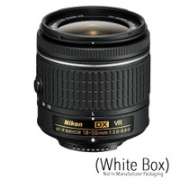 Nikon AF-P DX Nikkor 18-55mm f/3.5-5.6G VR Zoom Lens (White Box)