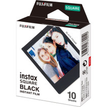 Fujifilm Instax Square Black Instant Film (10 Exposures)