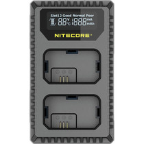 Nitecore USN1 Dual-Slot USB Travel Charger for Sony NP-FW50 Lithium-Ion Batteries