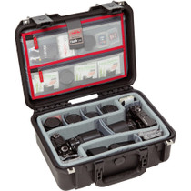 SKB iSeries 1510-6 Case with Think Tank-Designed Photo Dividers & Lid Organizer (Black)