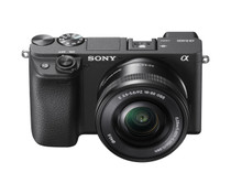 Sony Alpha a6400 Mirrorless APS-C Interchangeable-Lens Camera with 16-50mm lens