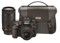 Nikon D7500 Traveler Dual Zoom Lens Kit