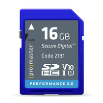 Promaster 16GB Performance 2.0 SDHC V10 Memory Card