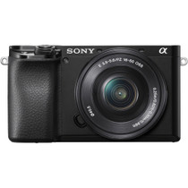 Sony Alpha a6100 Mirrorless Digital Camera with 16-50mm Lens
