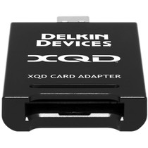 Delkin 120GB XQD Card & XQD Card Reader Combo Pack