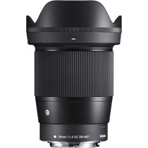 Sigma 16mm f/1.4 DC DN Contemporary Lens for Sony E