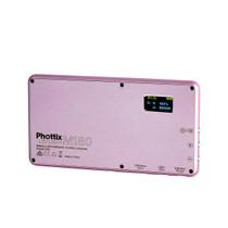 Phottix M180 Bicolor LED Panel and Power Bank (Rose Gold)