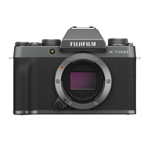 Fujifilm X-T200 Mirrorless Digital Camera Body (Dark Silver)