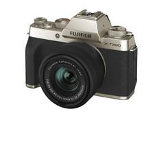 Fujifilm X-T200 Mirrorless Digital Camera with XC15-45mm F3.5-5.6 Lens (Champagne Gold)