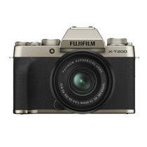 Fujifilm X-T200 Mirrorless Digital Camera with XC15-45mm F3.5-5.6 Lens (Champagne Gold)