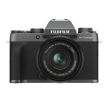 Fujifilm X-T200 Mirrorless Digital Camera with XC15-45mm F3.5-5.6 Lens (Dark Silver)