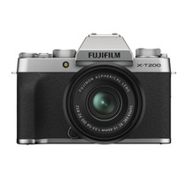 Fujifilm X-T200 Mirrorless Digital Camera with XC15-45mm F3.5-5.6 Lens (Silver)