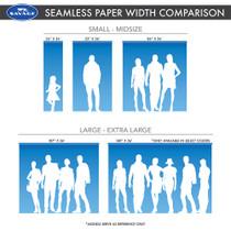 Savage 53X12 Super White Seamless Paper