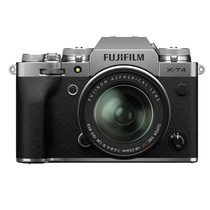 Fujifilm X-T4 Mirrorless Digital Camera with XF 18-55mm F/2.8-4 R OIS WR Kit (Silver)