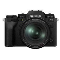Fujifilm X-T4 Mirrorless Digital Camera with XF16-80mm F/4 R OIS WR Kit (Black)