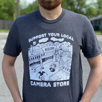 Support Your Local Camera Store Shirt