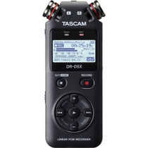 Tascam DR-05X Stereo Handheld Digital-Audio Recorder