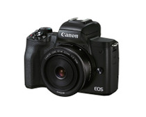 EOS M50 Mark II (black) + EF-M 15-45mm & EF-M 55-200mm IS STM Bundle