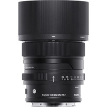 Sigma 65mm f/2 DG DN Contemporary Lens for Sony E