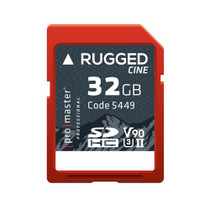 Promaster RUGGED Cine 32gb CINE UHS-II Memory Card