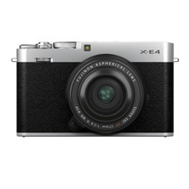 FUJIFILM X-E4 Body with XF 27mm F/2.8 R WR Lens Kit (Silver)