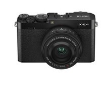 FUJIFILM X-E4 Body with XF 27mm F/2.8 R WR Lens Kit (Black)